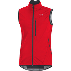 GORE WEAR C3 Gore Windstopper Light Vest Men, red